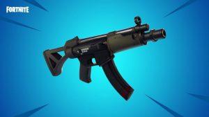 フォートナイト:v5.0で新武器「SMG」追加
