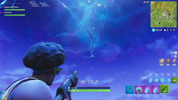 フォートナイト バトルロイヤル:空に生じた割れ目が拡大しマップ各地に発生中、Twitchのバナーも亀裂付きのデザインに変更