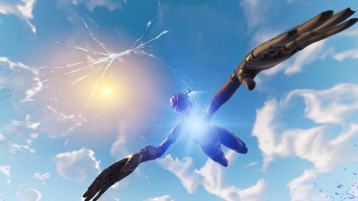 フォートナイト バトルロイヤル:一体何が起こる?空の亀裂が拡大しマップ全域に発生中、Twitchのバナーにも亀裂