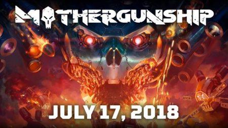 ローグライクFPS『MOTHERGUNSHIP』が7月17日リリース、自由度の高い銃器改造とマップ変化が特徴(無料デモ配信中)