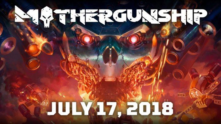 ローグライクFPS『MOTHERGUNSHIP』が7月17日リリース、自由度高すぎ武器とマップ変化が特徴(無料デモ配信中)