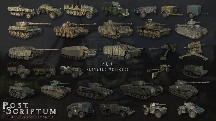 40 vs 40のリアル系 第二次大戦FPS『Post Scriptum』、予約受付とベータテスト開始