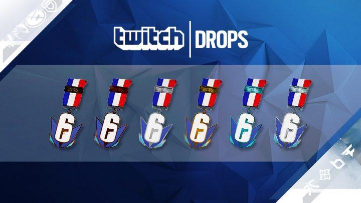 レインボーシックス シージ:パリ世界大会をTwitchで視聴して6種のチャームを貰おう