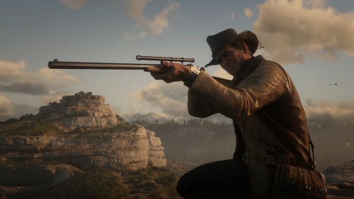 Red Dead Redemption2 レッド・デッド・リデンプション2 ライフル