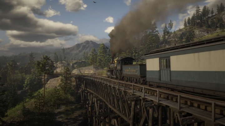 Red Dead Redemption2 レッド・デッド・リデンプション2 蒸気機関車
