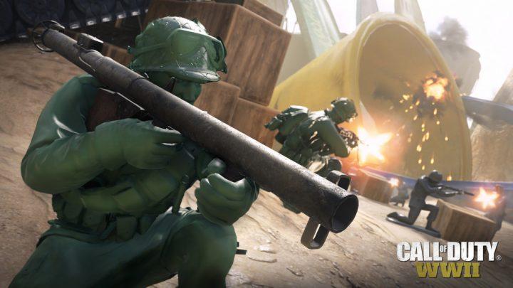 CoD:WWII:季節イベント「Days of Summer」開催、小さな緑の人形になるマップや新武器など