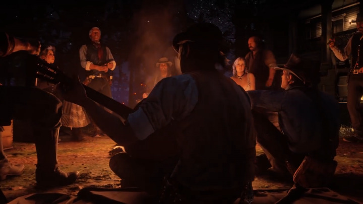 Red Dead Redemption2 レッド・デッド・リデンプション2 夜会