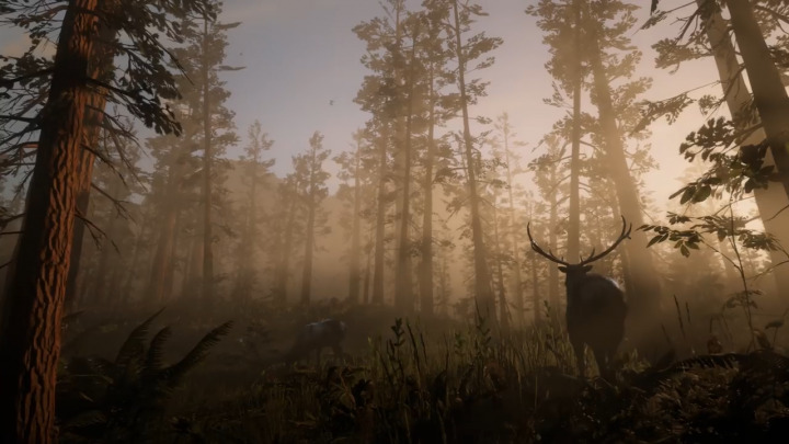 Red Dead Redemption2 レッド・デッド・リデンプション2 鹿