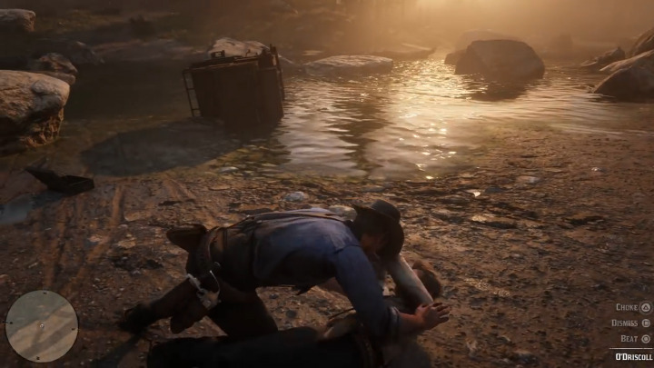 Red Dead Redemption2 レッド・デッド・リデンプション2 肉弾戦