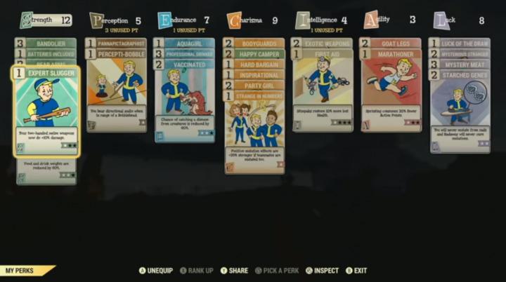 Fallout 76 PERK