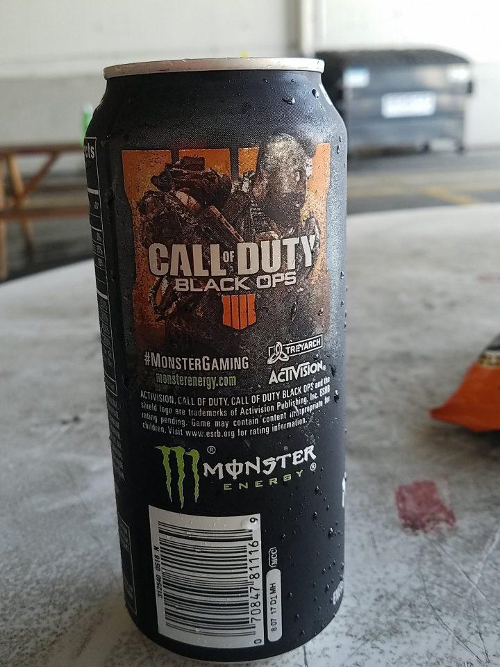 cod bo4 monster energy