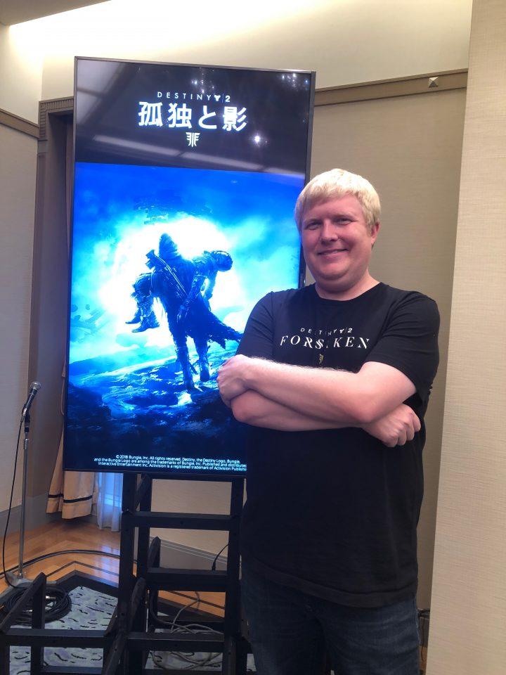 Destiny 2:マスターワークのコアへの調整を検討、年間パスの先のDestinyの制作も開始、孤独と影のプロデューサースコット・テイラー氏とインタビュー [TGS2018]