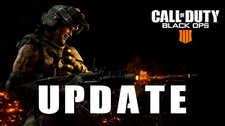 CoD:BO4:アップデート配信、ブラックアウトの9-Bang削除や多数の武器調整など
