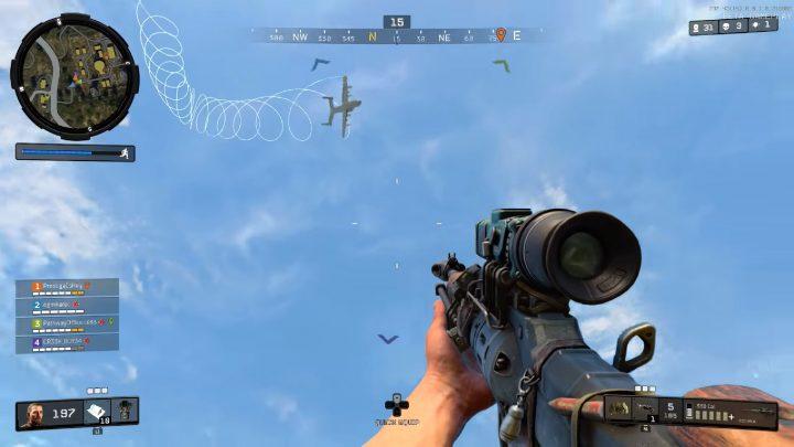 CoD:BO4:救援物資の輸送機は撃墜できる