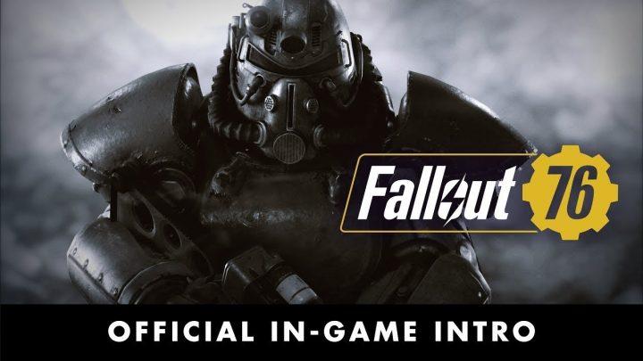 Fallout 76:日本語版オープニングムービー公開、海外ではベータテストの予告も
