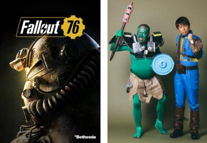 """Fallout 76:ゴア規制なしで11月15日国内発売、イメージキャラクターにお笑い芸人""""野性爆弾"""""""