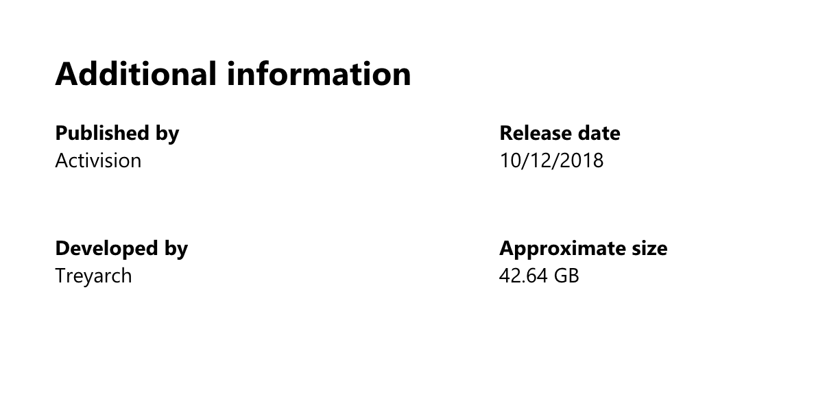 Xbox One版の容量