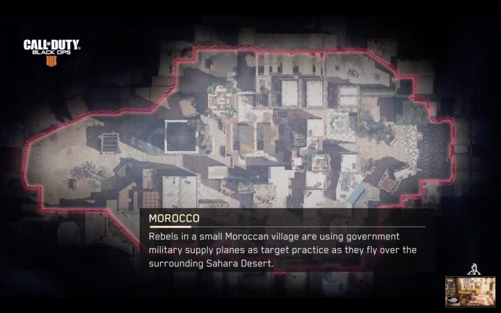 CoD:BO4:新マップ「モロッコ」公開、発売時にプレイ可能