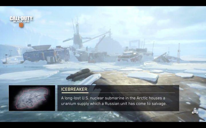 CoD:BO4:新マップ「Icebreaker(アイスブレーカー)」ショート映像公開