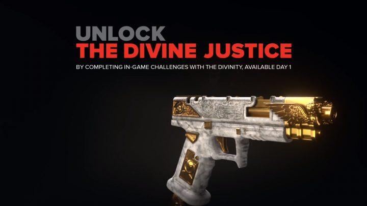 CoD:BO4:天使風デザインのシグネチャーウェポン「Divine Justice」外観映像公開、Gamestop限定