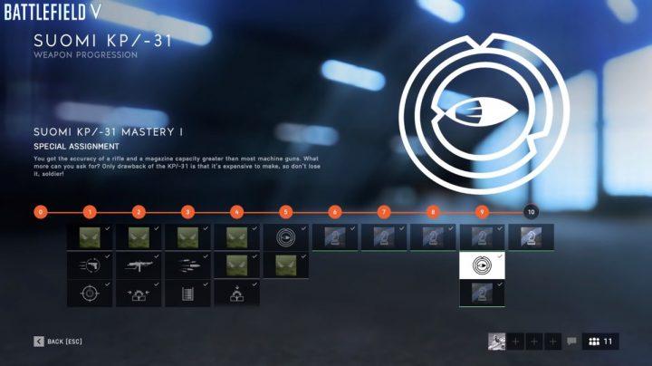BF5: 武器の特別任務をこなすと「スペシャルスキン」をアンロック
