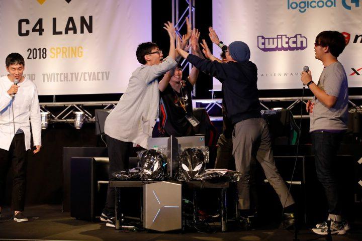 大型持ち込み型LANゲームパーティ「C4 LAN 2018 WINTER」、400席に拡大し本日チケット販売開始