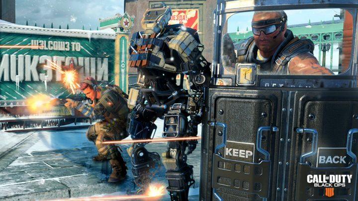 CoD:BO4:ロボットを護衛するゲームモード「Safeguard」が復活、まずはPS4でプレイ可能に