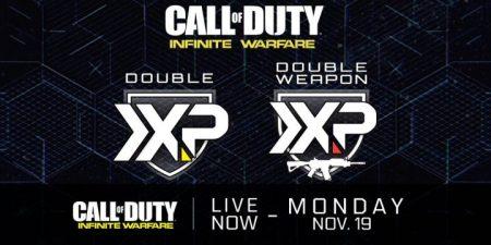 CoD:IW:ダブルXP & 武器ダブルXP同時開催、11月20日まで