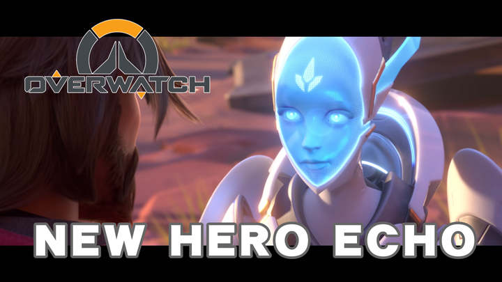 """オーバーウォッチ:新ヒーローにマクリーの相棒""""ECHO""""登場か、6人のヒーロー"""