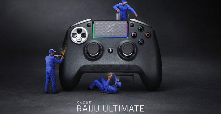 Razer謹製のPS4公認コントローラー「Raiju Ultimate」「Raiju Tournament Edition」11月30日に国内発売
