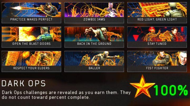 CoD:BO4:ブラックアウトの隠しチャレンジ「ダークオプス」全9種の詳細内容