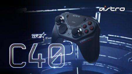 プロ用ヘッドセットで有名なAstroがPlayStation公認コントローラーC40を発表、モジュール付け替えによるカスタマイズ性でプロ用トーナメントにも対応