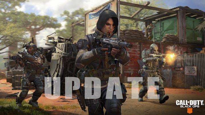 CoD:BO4:アップデート配信、アーマー弱体化やブラックアウトへ武器迷彩など(PS4/PC)