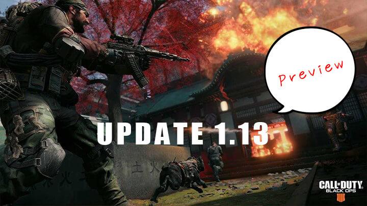 CoD:BO4:2月の「アップデート1.13」で武器のバランス調整実施、全モードの新コンテンツも