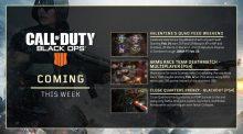 CoD:BO4:2月15日より4つのダブルXP開催、次期オペレーションのプレビューも公開
