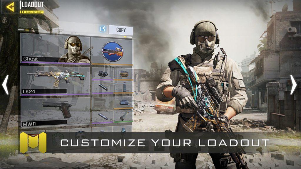 『Call of Duty: Mobile(コール オブ デューティ モバイル)』スクリーンショット2