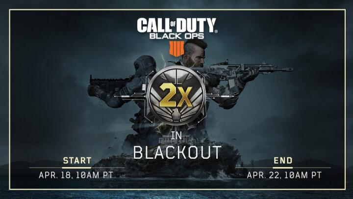 CoD:BO4:無料開放中の「ブラックアウト」でダブル戦功開始、4月23日まで