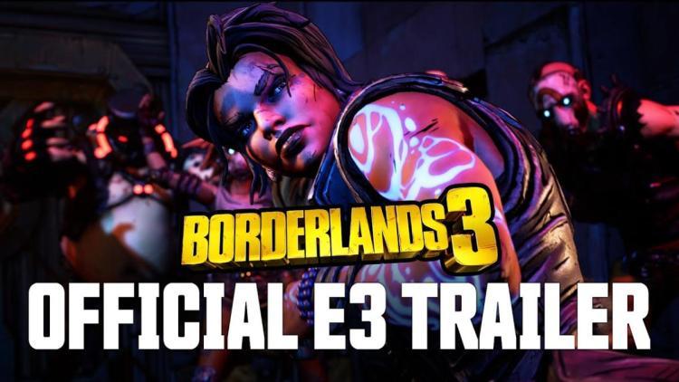 ボダラン3:『ボーダーランズ3』初公開シーン満載のE3シネマティックトレーラー公開、無限武器ドロップも…?