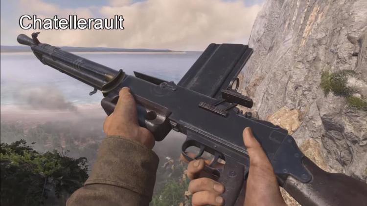 CoD:WWII:オーステンやシャテルローなど7種の新武器追加、新武器が入手できる契約も登場