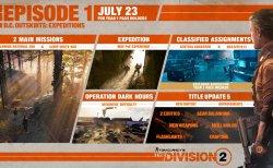 ディビジョン2: 7月23日午後4時半から3時間のメンテナンス。 無料DLC「エピソード1 DC郊外: エクスペディション」が配信