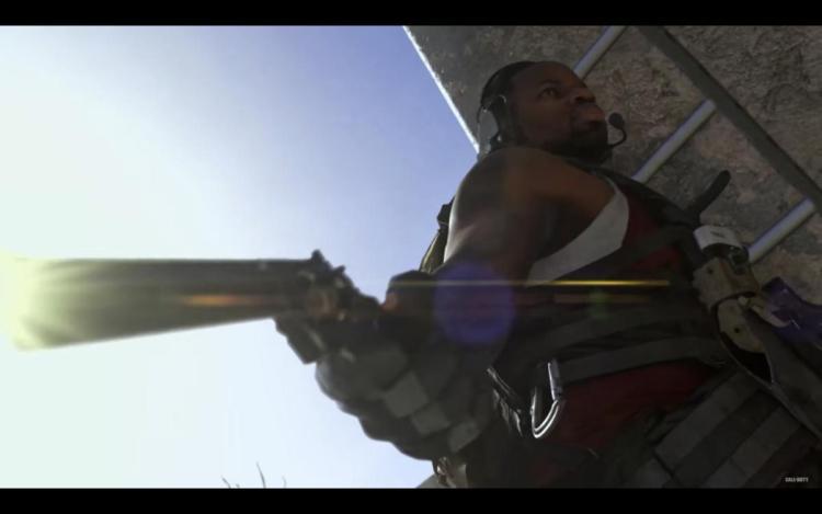 CoD:MW:ハシゴを登っている最中のピストル射撃が可能に