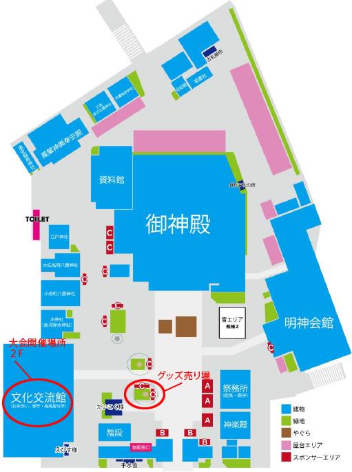 神田明神MAP