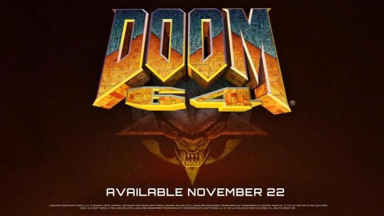 20年以上前の名作FPS『DOOM 64』が蘇る、Nintendo Switch版2019年11月22日発売(海外)