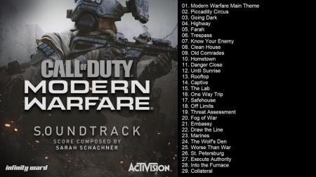 CoD:MW:公式サウンドトラック