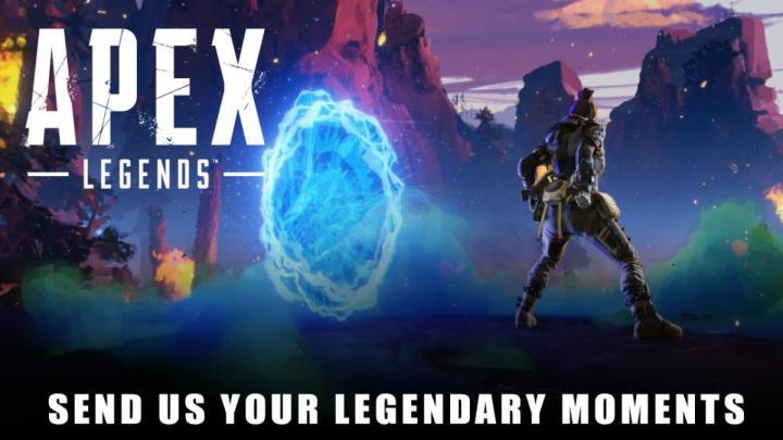 エーペックスレジェンズ:ナイスプレイを募集する「Legendary Moments」開始、公式チャンネルで紹介してもらえるチャンス