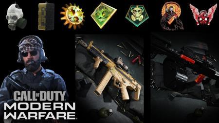 CoD:MW: シーズン1のバトルパスの報酬(全104種)がリーク、新武器2種 / オペレータースキン12種 / 設計図20種 / CODポイントなど