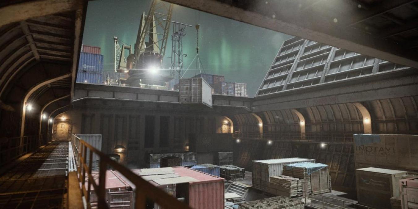 「Cargo」の画像。貨物船の内部がフィーチャーされている
