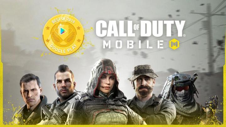 CoDモバイル:Google Playのベストゲームに選出