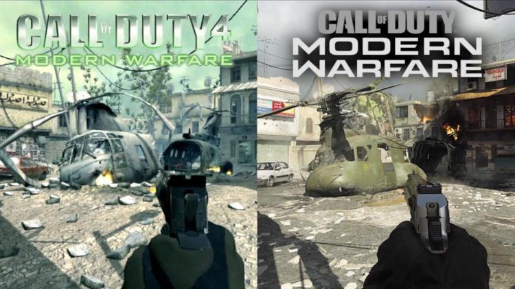 CoD:MW:リマスターマップ「Crash」『CoD4:MW』との新旧比較映像( 2007年 → 2019年)