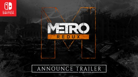 地下鉄FPS『Metro Redux(メトロ リダックス)』Nintendo Switch版